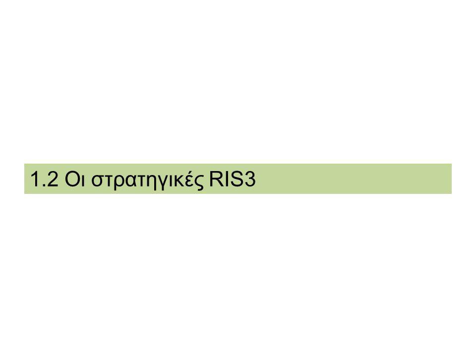 DG REGIO - RIS for Smart Specialisation in Greece Clusters: μια διαδρομή τεχνολογικής ανάπτυξης