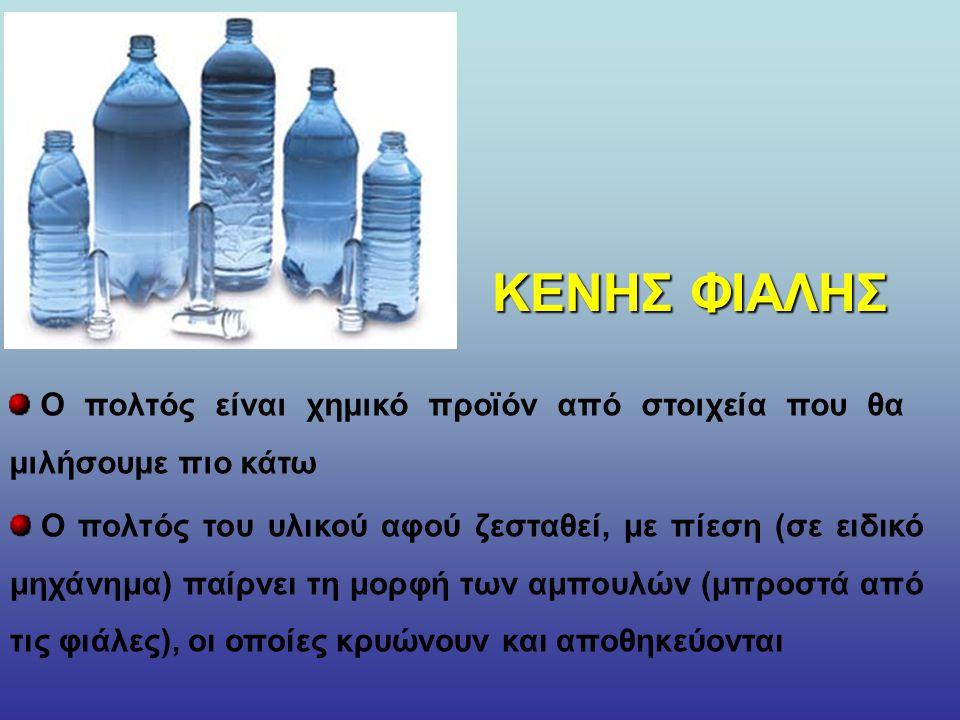 Το πλαστικό μπουκάλι και γενικά καθετί το πλαστικό έχει μπει για τα καλά στη ζωή μας Πως κατασκευάζεται και φτάνει στην τελική του μορφή στα χέρια μας