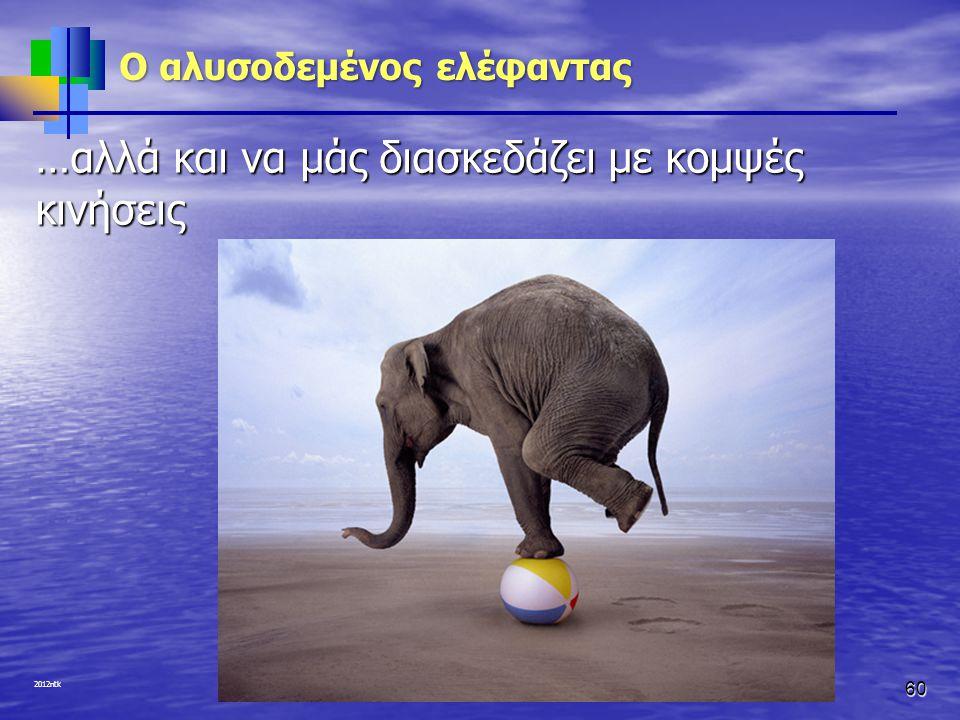 2012ntk O αλυσοδεμένος ελέφαντας …αλλά και να μάς διασκεδάζει με κομψές κινήσεις 60