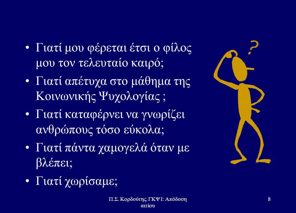 Εισαγωγή στην Κοινωνική Ψυχολογία ΙΙ  ΩΡΕΣ ΓΡΑΦΕΙΟΥ –Τρίτη 17:00 – 19:00, στο Β7  ΕΠΙΚΟΙΝΩΝΙΑ – pkord@otenet.gr καιpkord@otenet.gr – kordouti@pantei
