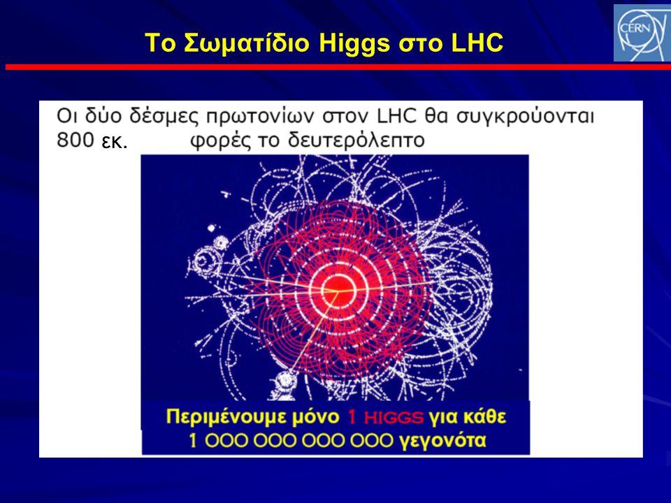 Το Σωματίδιο Higgs στο LHC εκ.