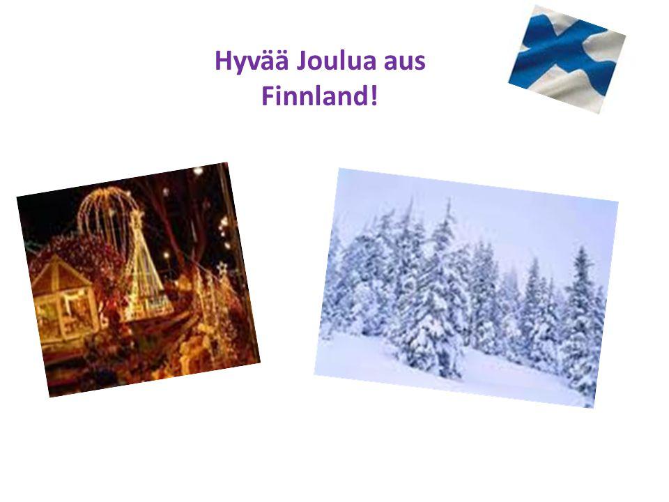 Hyvää Joulua aus Finnland!