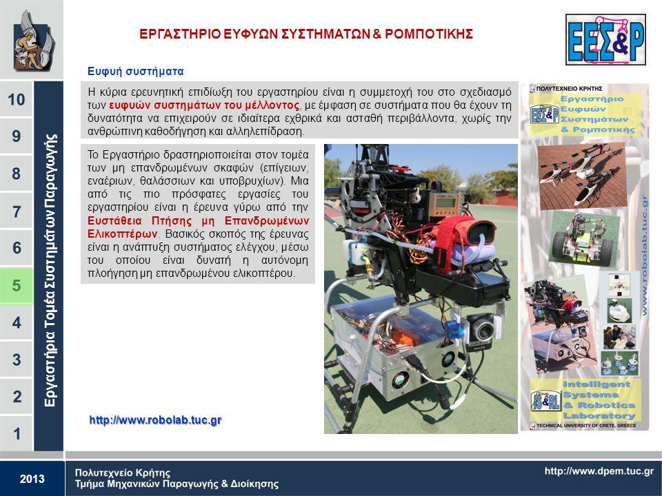 2013 ΕΡΓΑΣΤΗΡΙΟ ΒΙΟΜΗΧΑΝΙΚΗΣ ΠΑΡΑΓΩΓΗΣ ΜΕ ΤΗ ΒΟΗΘΕΙΑ ΗΥ (CAM) http://www.cam.tuc.gr Ανάλυση Συστημάτων Παραγωγής Αναπτύσσονται μοντέλα για την εκτίμησ