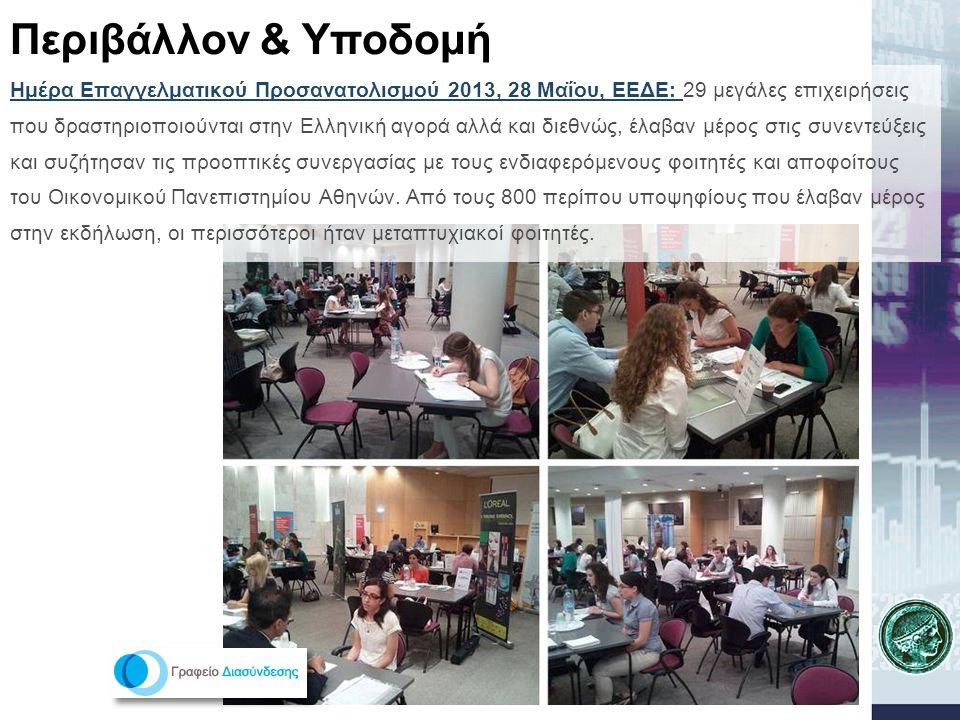 Ημέρα Επαγγελματικού Προσανατολισμού 2013, 28 Μαΐου, ΕΕΔΕ: 29 μεγάλες επιχειρήσεις που δραστηριοποιούνται στην Ελληνική αγορά αλλά και διεθνώς, έλαβαν