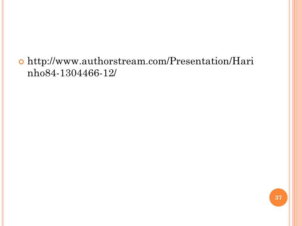 http://www.authorstream.com/Presentation/Hari nho84-1304466-12/ 37