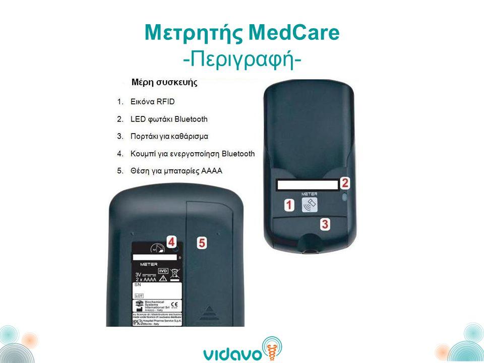 Μετρητής MedCare -Περιγραφή-