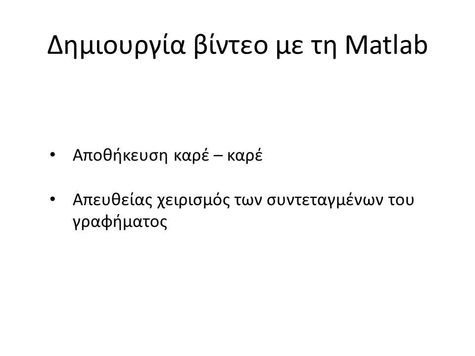 Οι εντολές της MATLAB, όπως οι max, size, κλπ είναι function m-files.