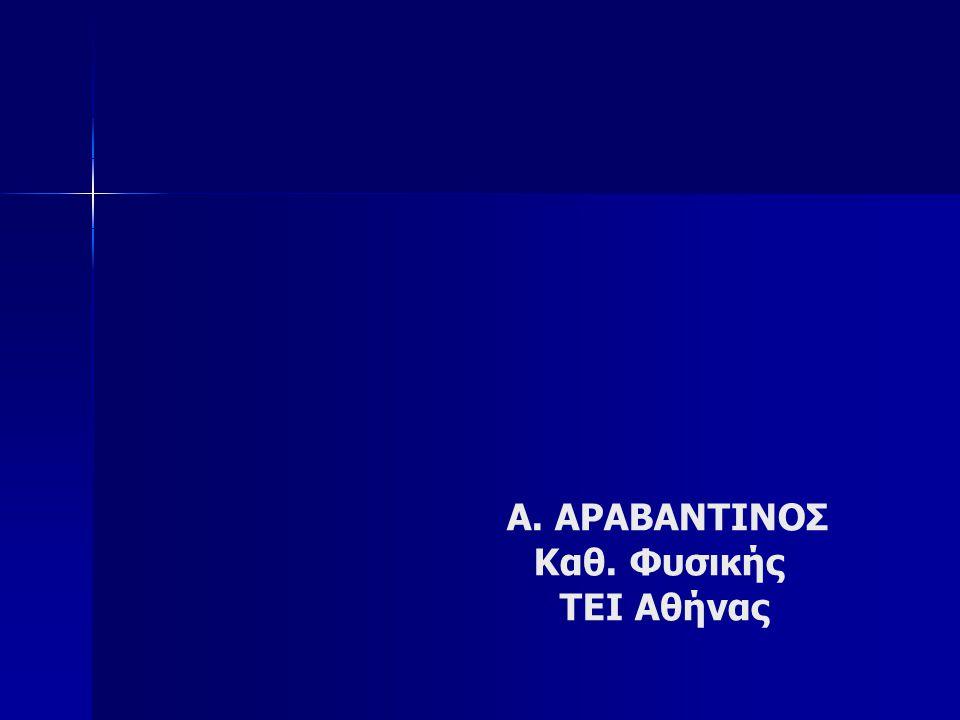 ΟΛΟΓΡΑΦΙΑ : Η οπτική επικοινωνία του μέλλοντος Α. ΑΡΑΒΑΝΤΙΝΟΣ Καθ. Φυσικής ΤΕΙ Αθήνας