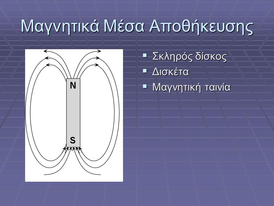 Μαγνητικά Μέσα Αποθήκευσης Ν S Ν S Ν S Ν S Ν S Ν S Ν S Ν S Ν S Ν S Ν S Ν S Ν S