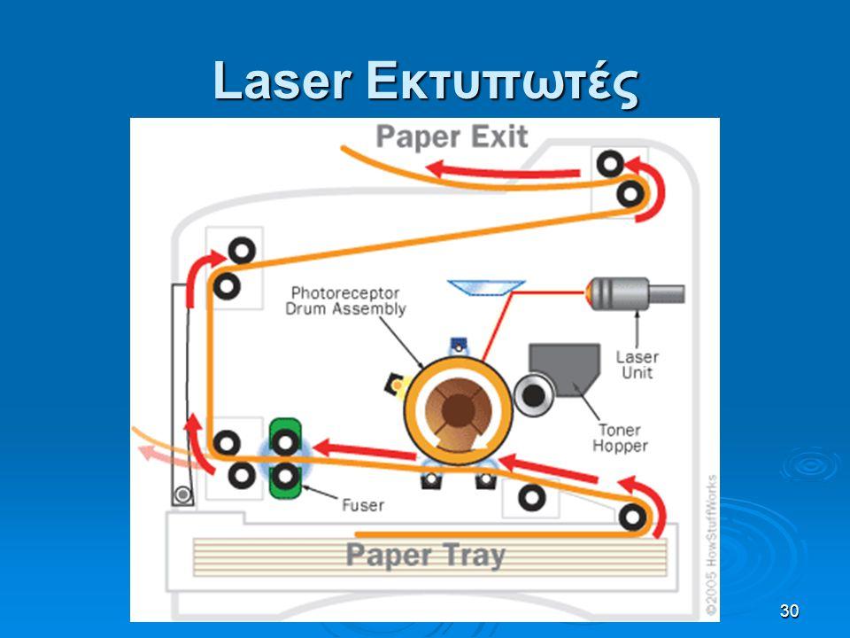 30 Laser Εκτυπωτές
