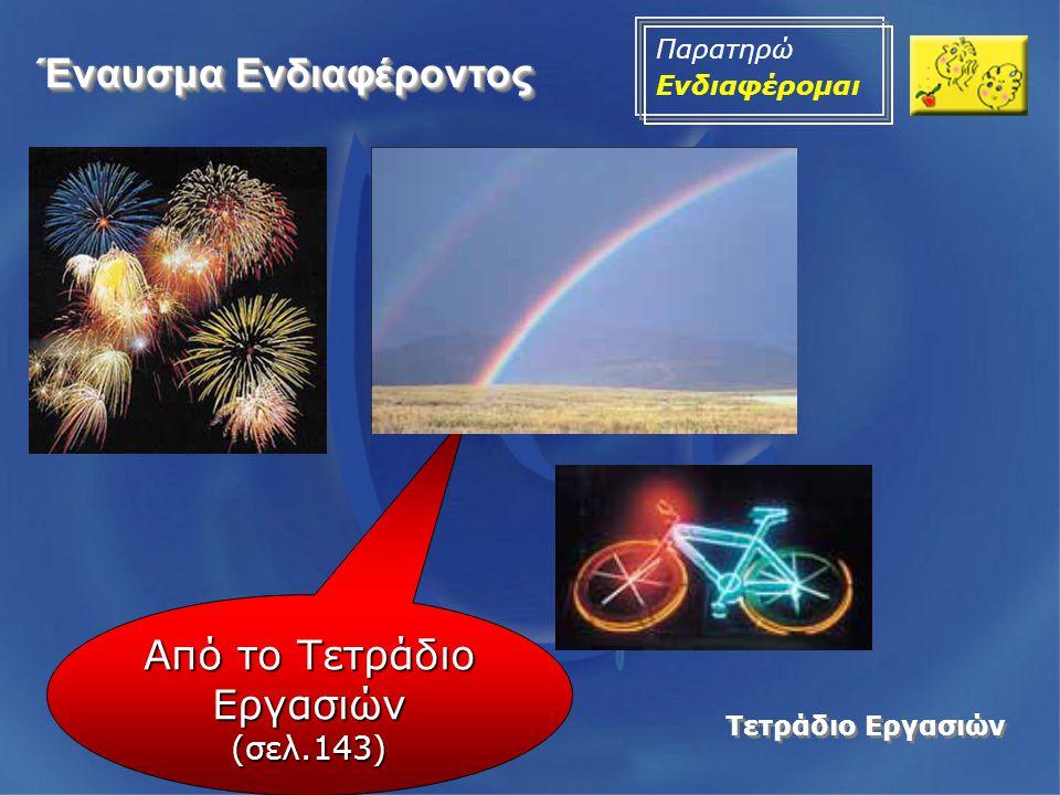 Λογισμικό •Ανακαλύπτω τις μηχανές (Μικροσκόπιο, Μηχανή προβολής ταινιών, Τηλεσκόπιο, φωτογραφική μηχανή) •Στις διευθύνσεις: •http://www.spin.gr/static/sections/applets/phy sics.html •http://gym- kastr.ark.sch.gr/programata/Bazanos/ •θα βρείτε εφαρμογές που μας δείχνουν την ανάλυση και τη σύνθεση του φωτός