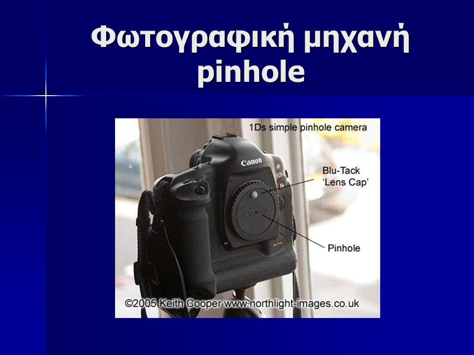 Φωτογραφική μηχανή pinhole
