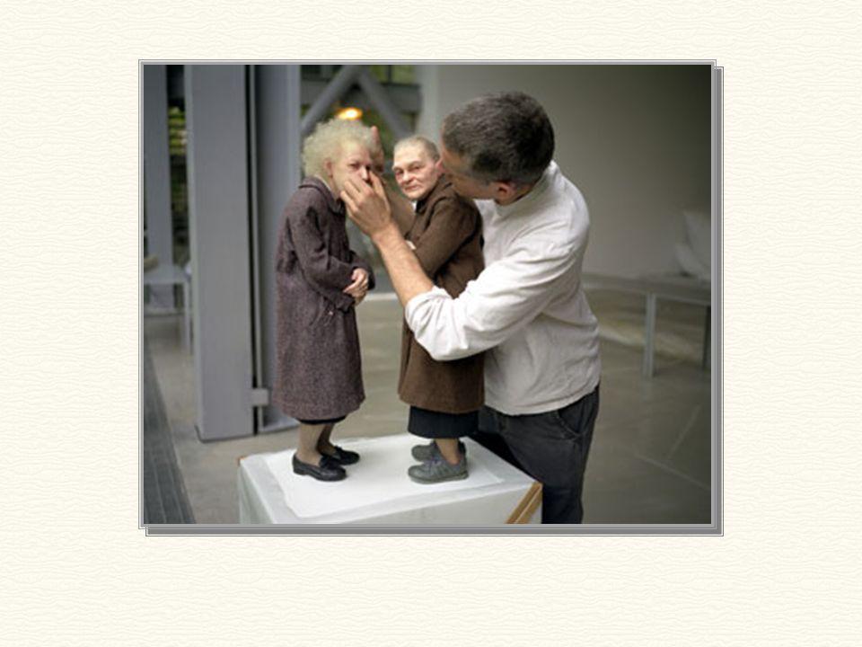 Εντυπωσιακό: Αυτές οι 2 ηλικιωμένες κυρίες είναι γλυπτά!