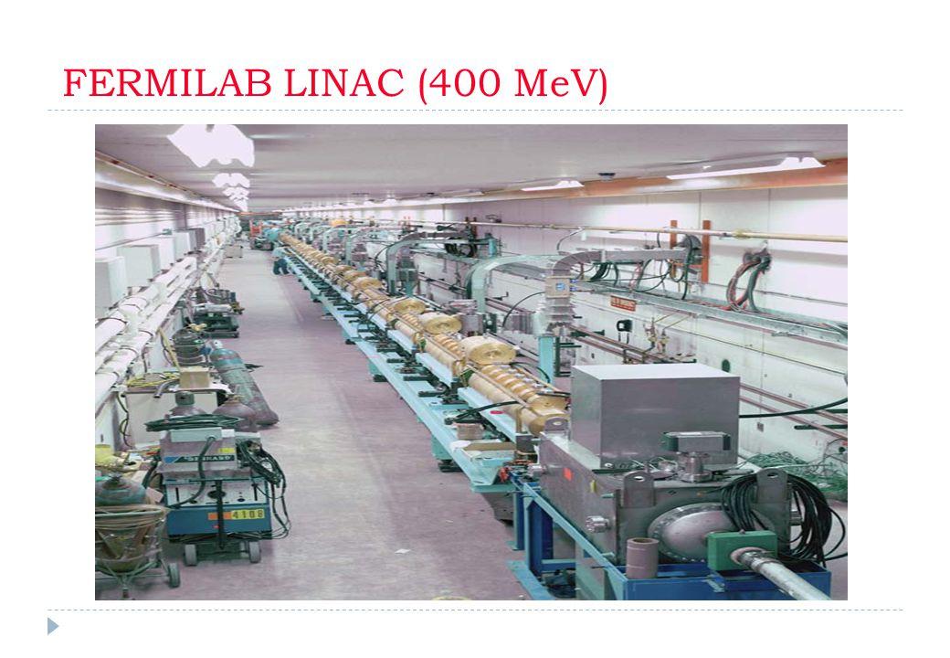 FERMILAB LINAC (400 MeV)