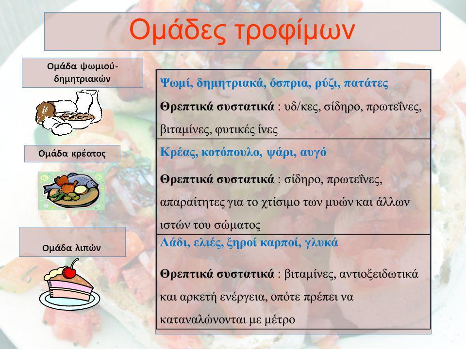 Η διατροφή μας είναι στενά συνδεδεμένη με την καλή υγεία.
