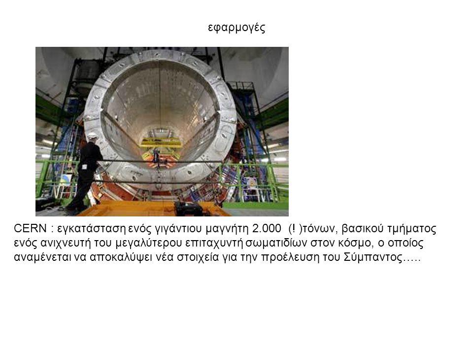 CERN : εγκατάσταση ενός γιγάντιου μαγνήτη 2.000 (! )τόνων, βασικού τμήματος ενός ανιχνευτή του μεγαλύτερου επιταχυντή σωματιδίων στον κόσμο, ο οποίος