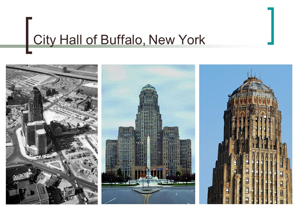 City Hall of Buffalo, New York