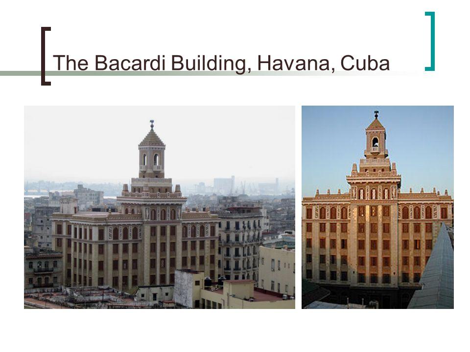 The Bacardi Building, Havana, Cuba