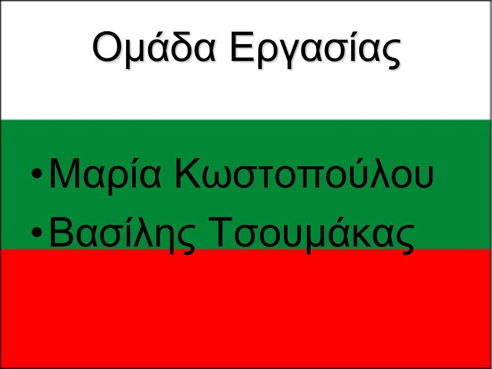 Ομάδα Εργασίας •Μαρία Κωστοπούλου •Βασίλης Τσουμάκας