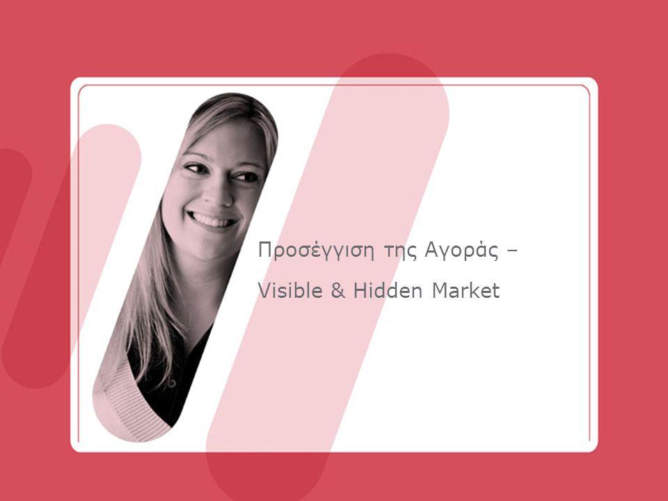 Προσέγγιση της Αγοράς – Visible & Hidden Market