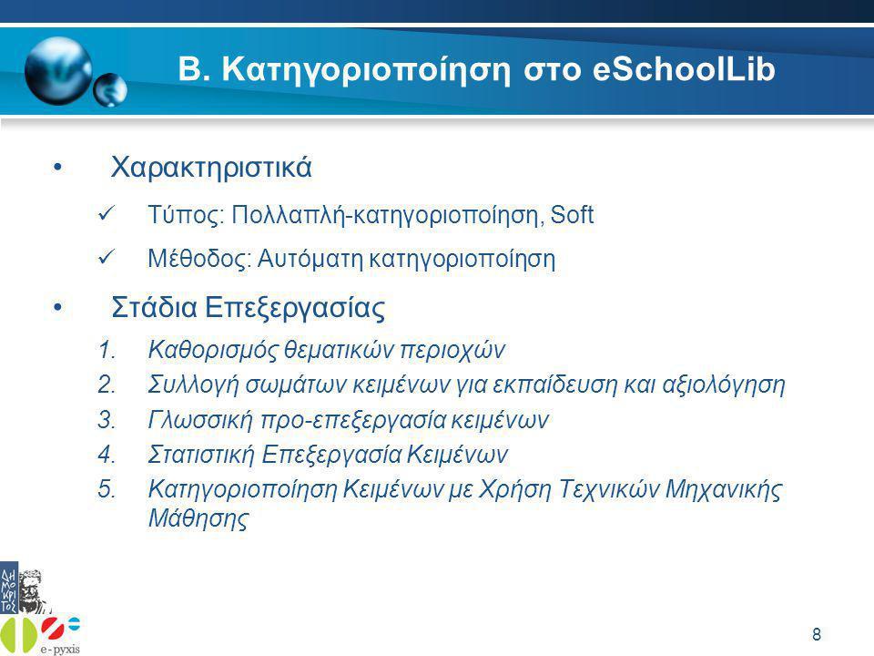 39 Ελληνικός Stemmer – Γενικά  Κανονικοποίηση και e-pyxis  Το εργαλείο e-pyxis βοηθάει στο εμπλουτισμό της βιβλιοθήκης  Ανάγκη ύπαρξης μιας αποτελεσματικής μηχανής αναζήτησης  Για το λόγο αυτό αναπτύχθηκε ελληνικός κανονικοποιητής(stemmer)