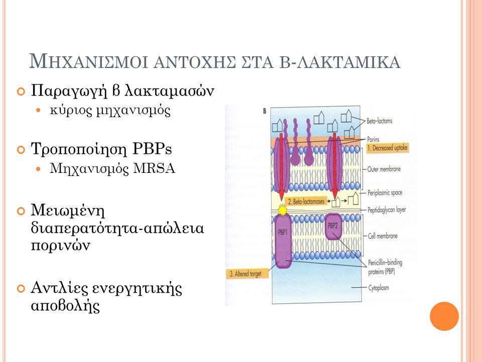 outside inside inside Excreted antibiotic
