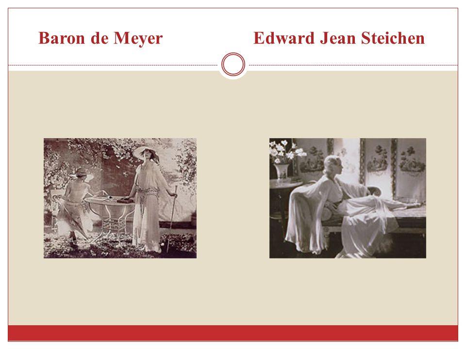 Baron de Meyer Edward Jean Steichen