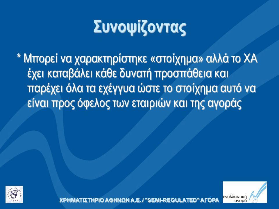 ΧΡΗΜΑΤΙΣΤΗΡΙΟ ΑΘΗΝΩΝ Α.Ε. /