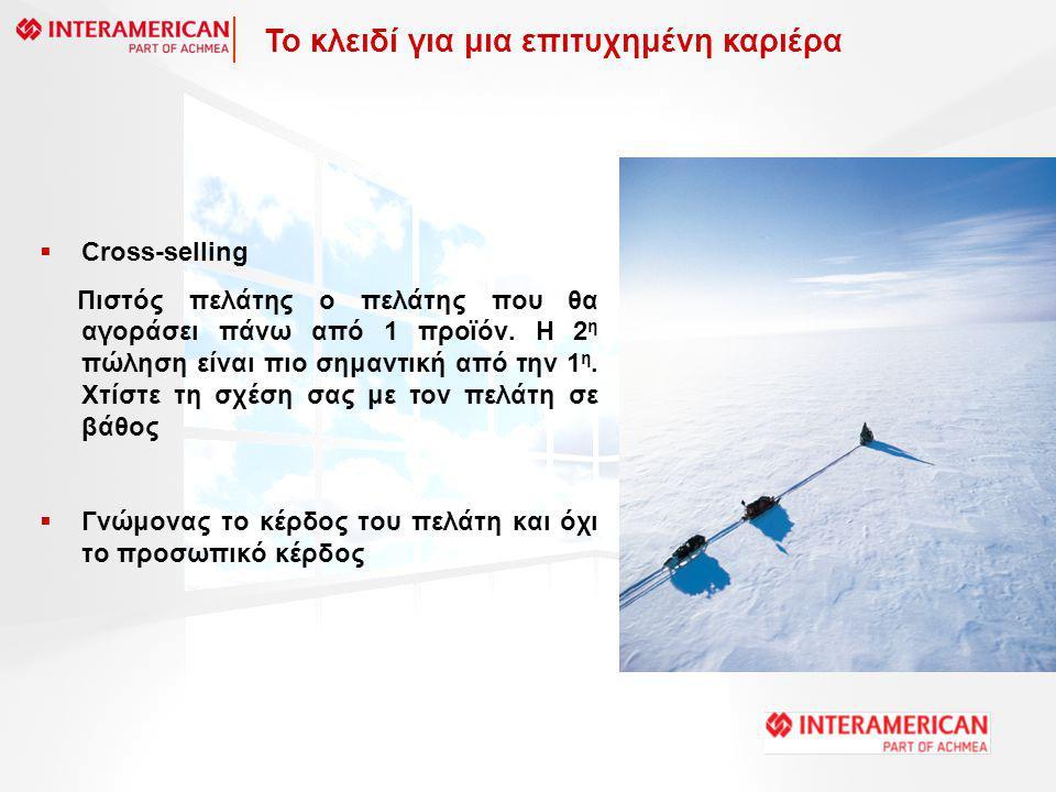  Cross-selling Πιστός πελάτης ο πελάτης που θα αγοράσει πάνω από 1 προϊόν.