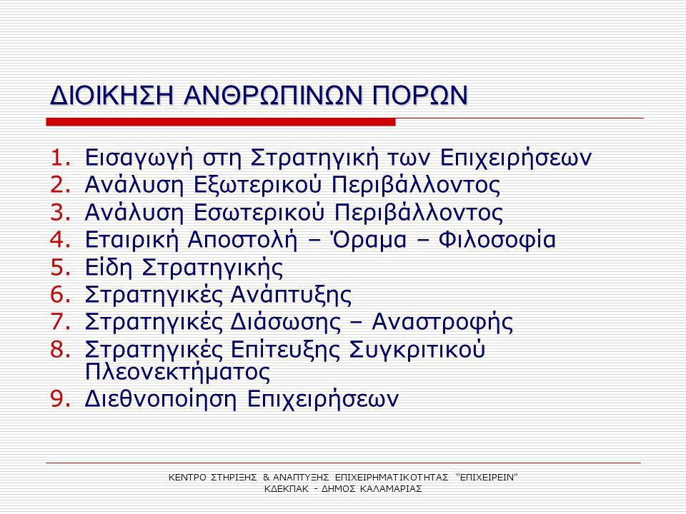 ΣΤΡΑΤΗΓΙΚΕΣ ΑΝΑΠΤΥΞΗΣ 3.