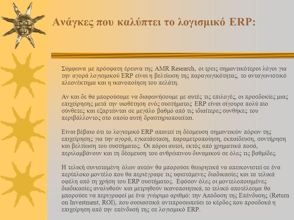 Εγκατάσταση ERP = Μείωση του προσωπικού της επιχείρησης; Προκειμένου να δώσουμε απάντηση στο ερώτημα αυτό, πρέπει να δούμε πώς λειτουργεί η επιχείρηση πριν και μετά την εγκατάσταση του ERP.