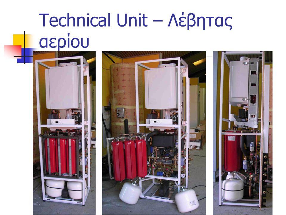 Technical Unit – Λέβητας αερίου