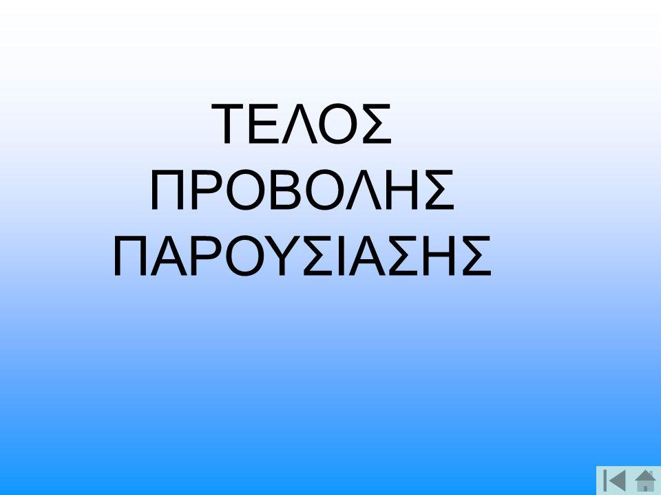 ΤΕΛΟΣ ΠΡΟΒΟΛΗΣ ΠΑΡΟΥΣΙΑΣΗΣ