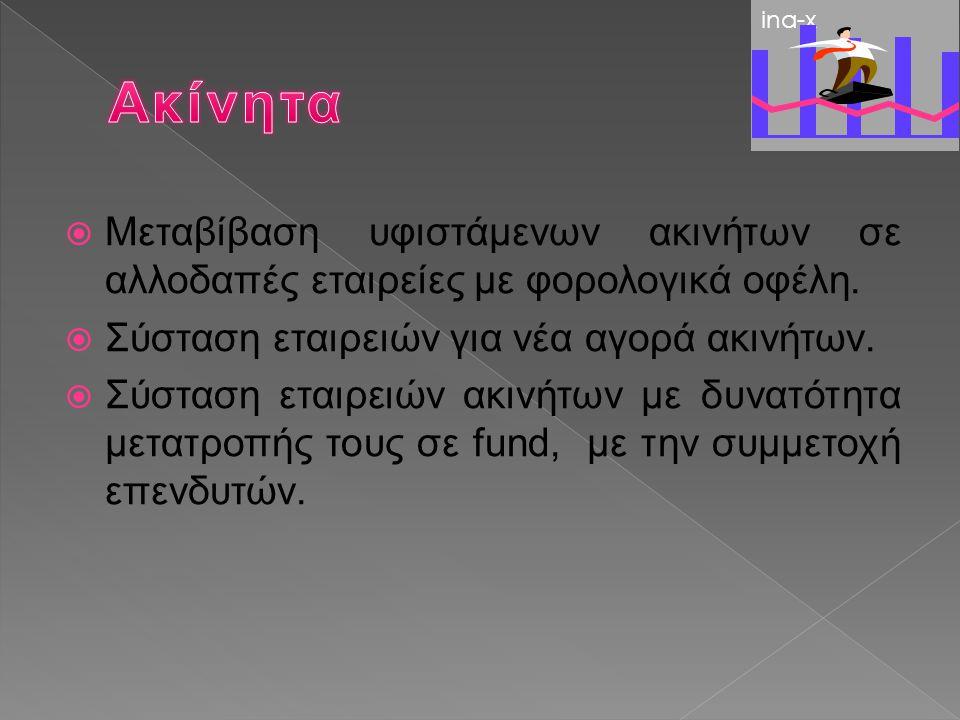 Φορολογικός Σχεδιασμός με βάση τους φορολογικούς νόμους της Ευρώπης και τους χαμηλούς συντελεστές φορολογίας.