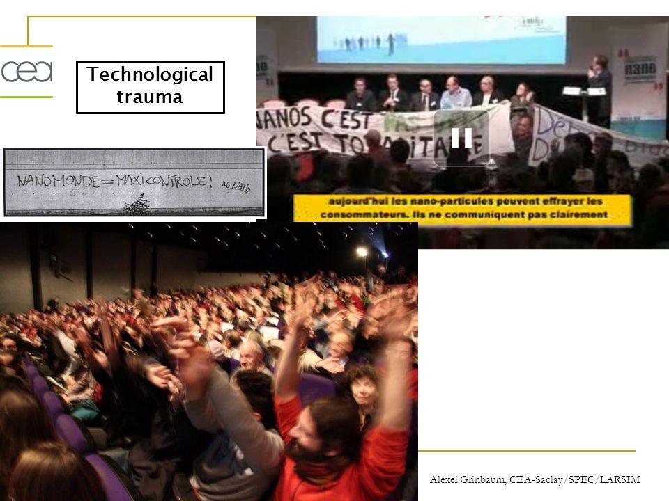 Technological trauma Alexei Grinbaum, CEA-Saclay/SPEC/LARSIM