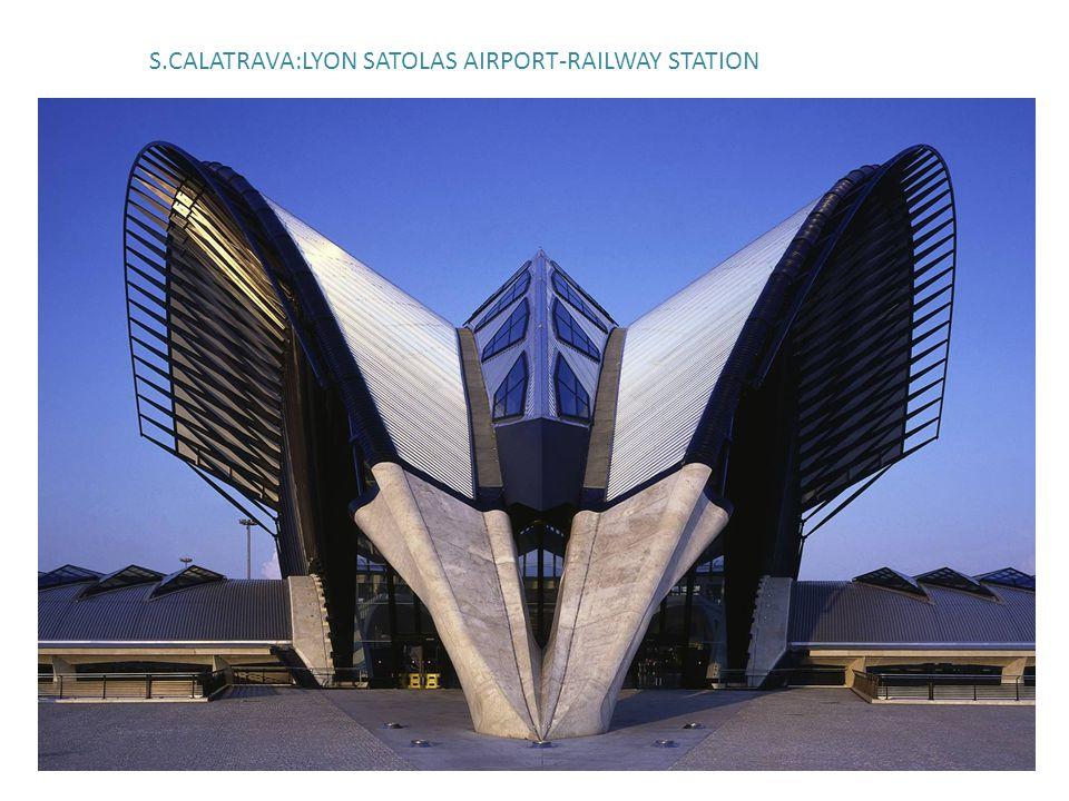 S.CALATRAVA:LYON SATOLAS AIRPORT-RAILWAY STATION