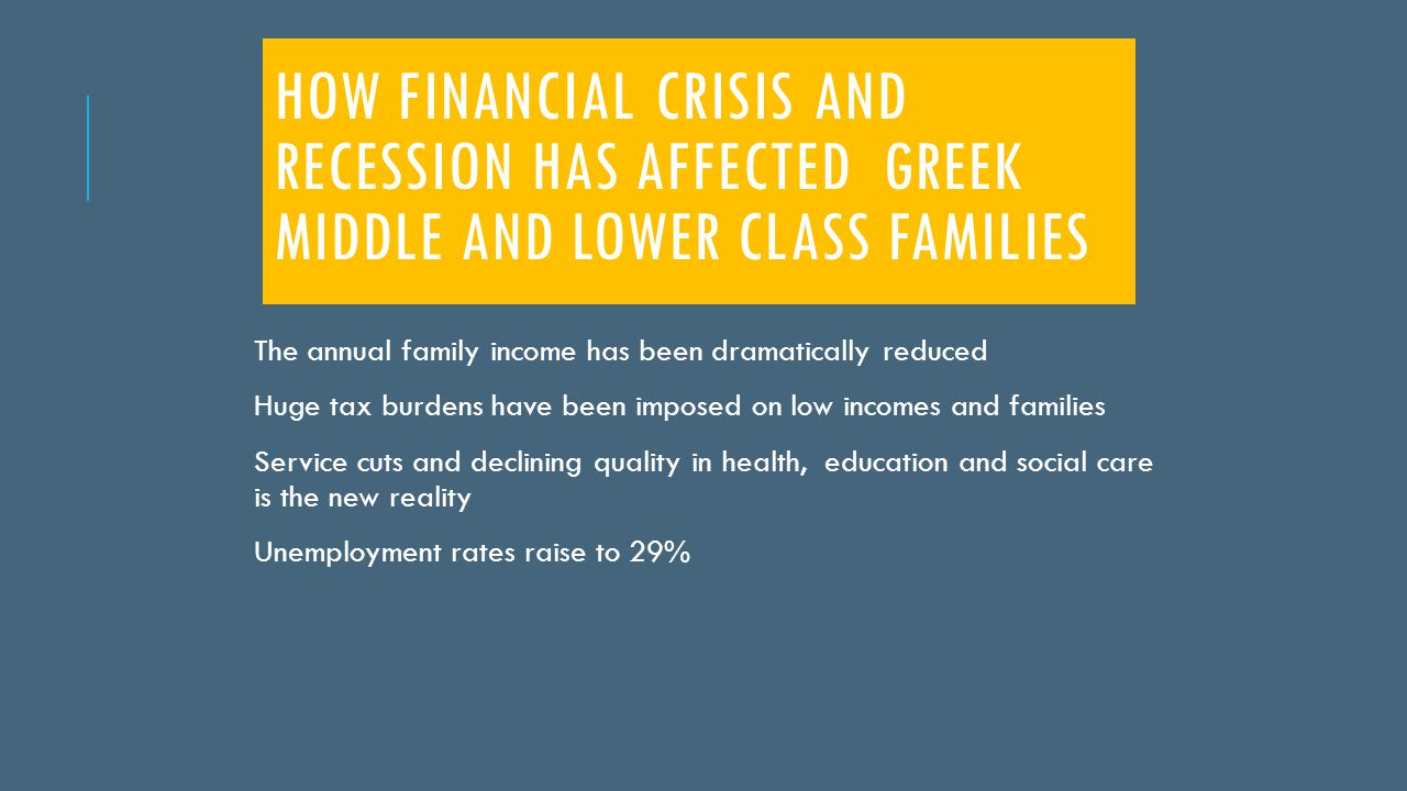 4.How did the crisis affect people generally. a. They became more indifferent b.