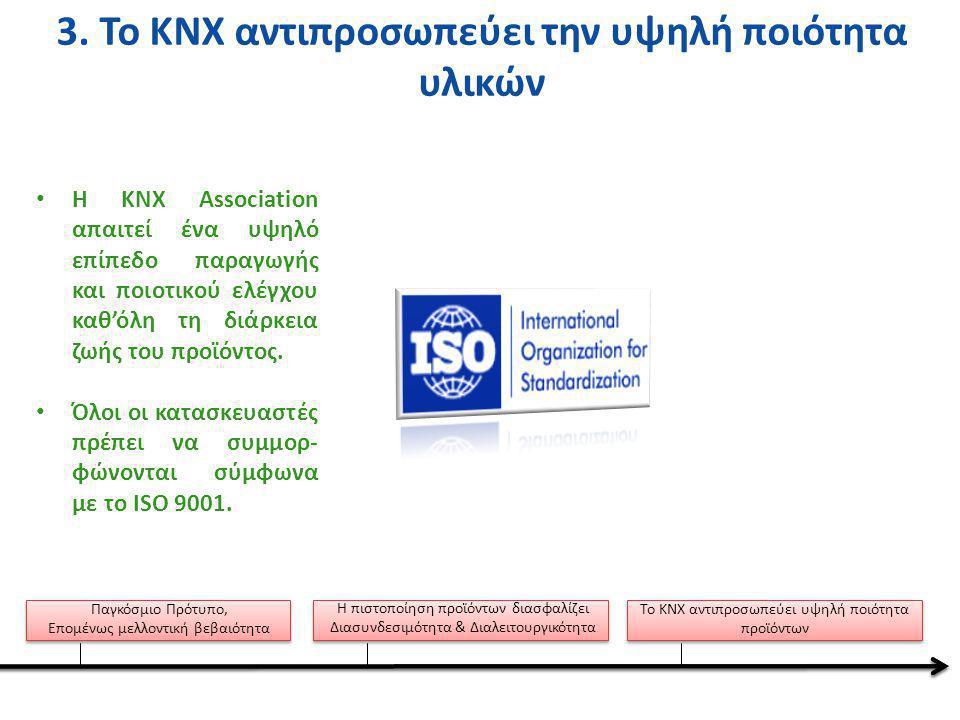 •Τ•Το λογισμικό εργαλείο ETS επιτρέπει το σχεδιασμό, την παραμετροποίηση και τον προγραμματισμό όλων των πιστοποιημένων προϊόντων KNX.