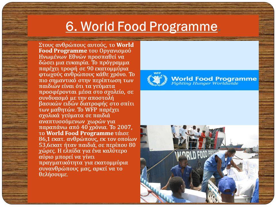 6.World Food Programme.