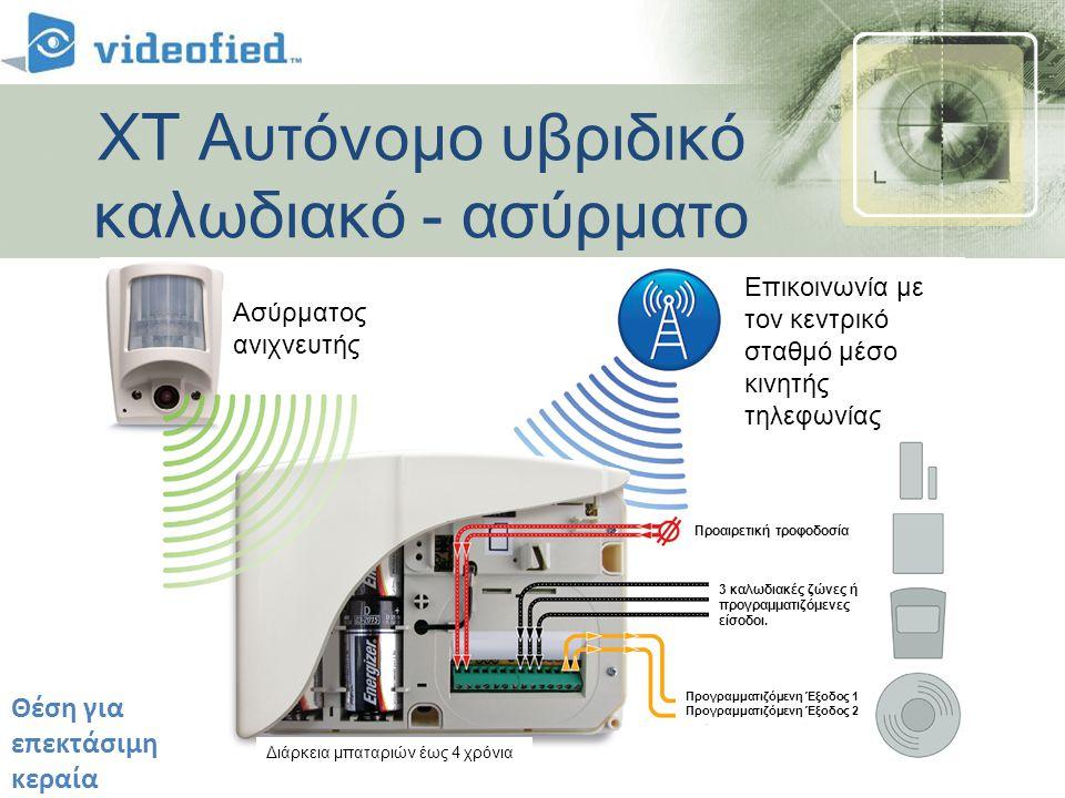 • Αναβάθμιση υφισταμένων συστημάτων με βίντεο και υποστήριξη GPRS • Επέκταση υφισταμένων συστημάτων με την διατήρηση των καλωδιακών συσκευών.