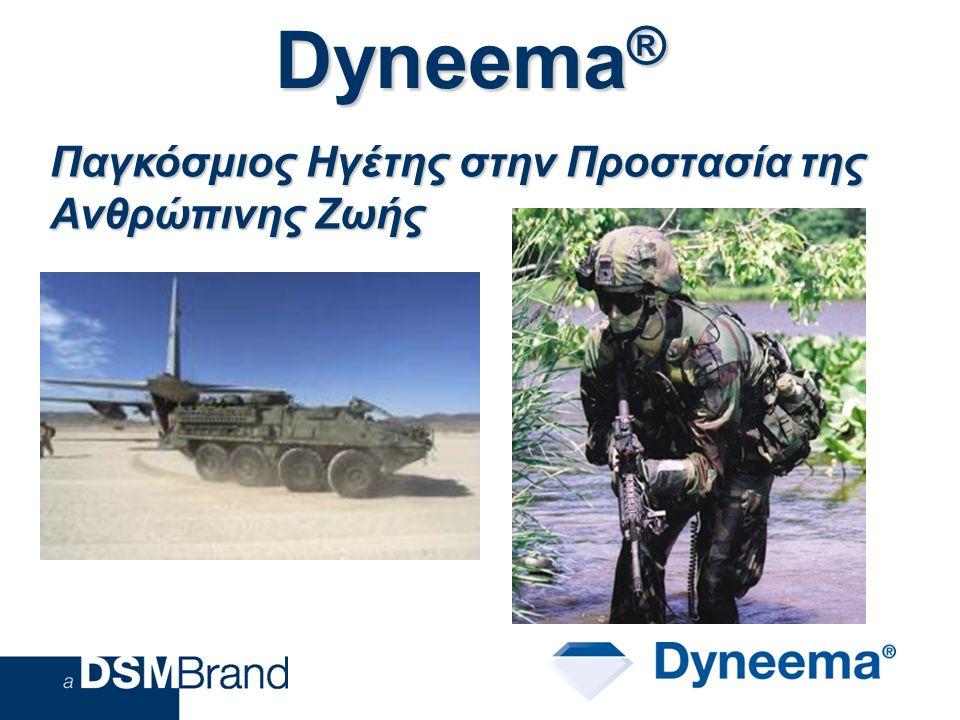 Dyneema ® Παγκόσμιος Ηγέτης στην Προστασία της Ανθρώπινης Ζωής