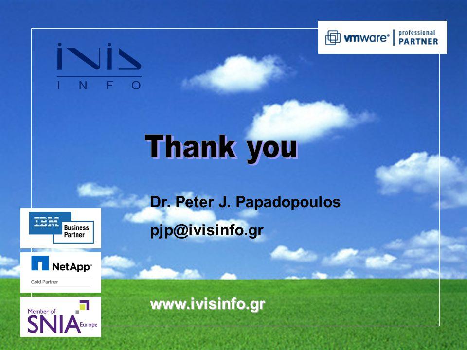 Dr. Peter J. Papadopoulos pjp@ivisinfo.gr www.ivisinfo.gr