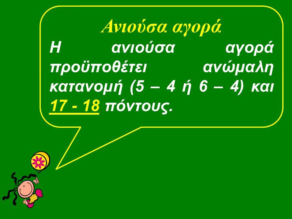 ♠ Κ5 ♥ QJ7  AKJ83 ♣ A52 1♦1♦ Tι επαναδηλώνεις με αυτό το χέρι; 2XA Pass 1♠1♠ 2XA Σωστά.