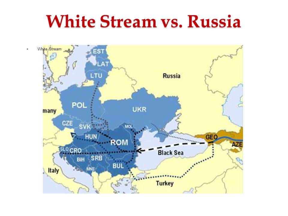 White Stream vs. Russia •White Stream