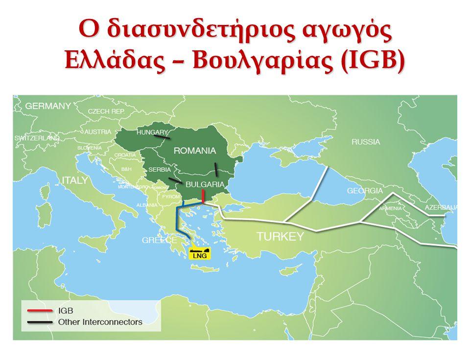 Ο διασυνδετήριος αγωγός Ελλάδας – Βουλγαρίας (IGB)
