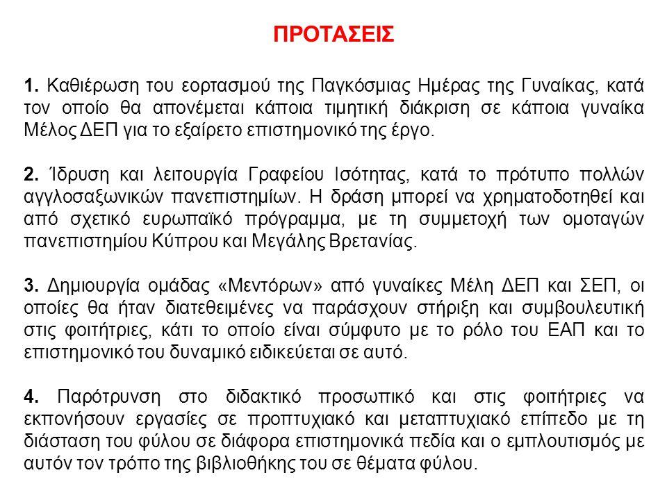 ΠΡΟΤΑΣΕΙΣ 1.