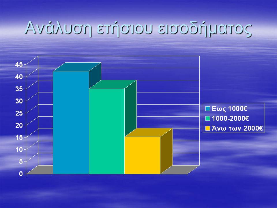 Ανάλυση ετήσιου εισοδήματος