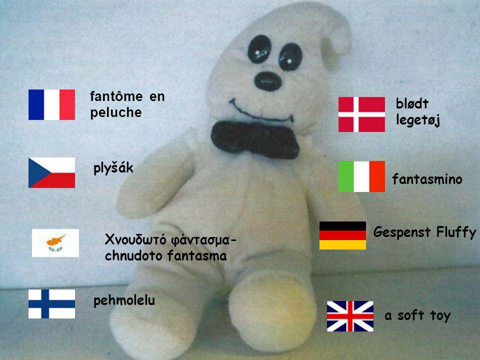 a soft toy pehmolelu blødt legetøj plyšák fantasmino Χνουδωτό φάντασμα- chnudoto fantasma fantôme en peluche Gespenst Fluffy