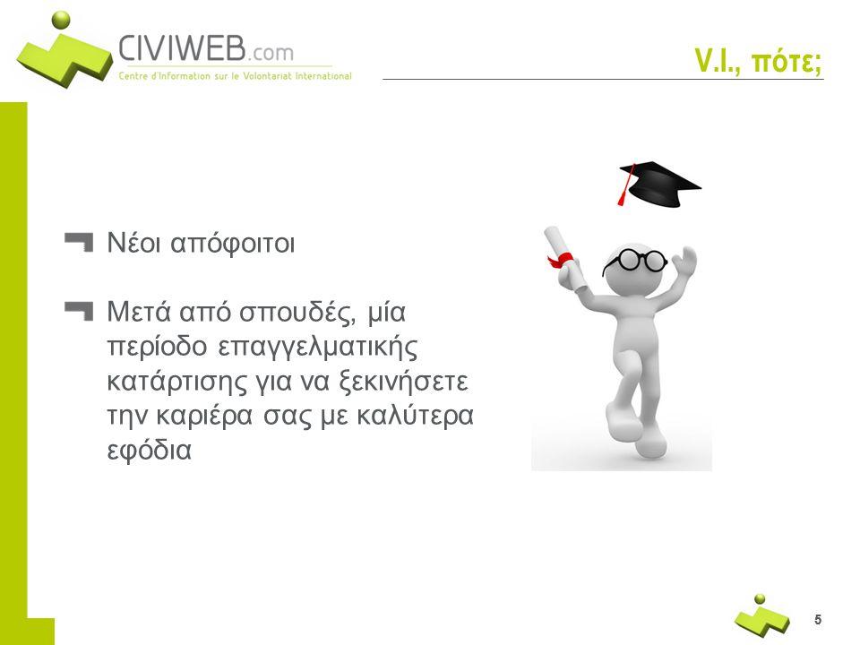 55 V.I., πότε; Νέοι απόφοιτοι Μετά από σπουδές, μία περίοδο επαγγελματικής κατάρτισης για να ξεκινήσετε την καριέρα σας με καλύτερα εφόδια