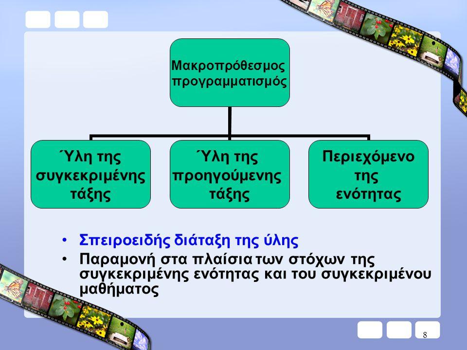 Εποπτικά μέσα Αισθητοποίηση αριθμών και 4 πράξεις •οριζόντιο αριθμητήριο τάξης •κατακόρυφο αριθμητήριο τάξης 29